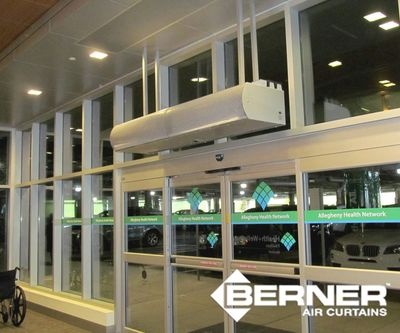 Berner Architectural High Performance 10 air curtain