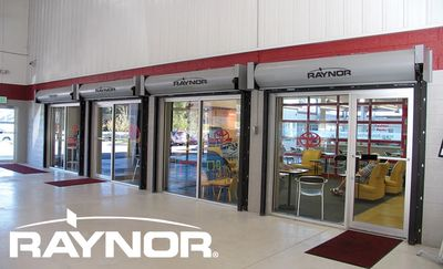 Raynor FireCoil Fire-Rated Rolling Doors