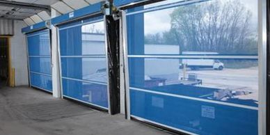 Commercial Bug Screen Doors, Goffs, keep out bugs, birds and intruders.