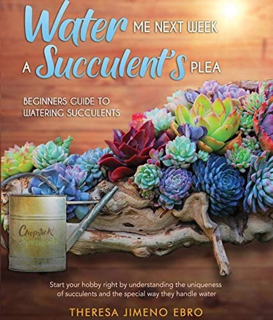 Water me Next Week A Succulent's Plea, Theresa Jimeno Ebro