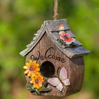 bird house for succulent projects