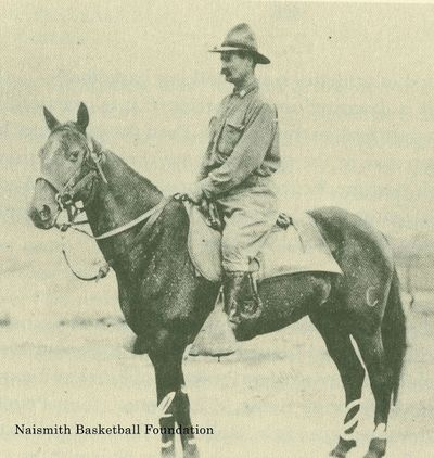 National Guardsman James Naismith Guarding the Border in 1916