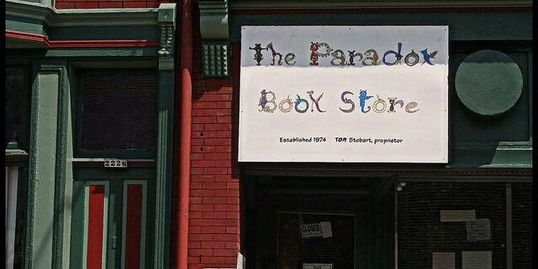 The Paradox Book Store in Wheeling, WV.