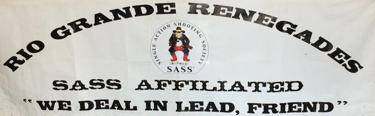 The Rio Grande Renegades is a SASS affiliated club located at Hayes City, Albuquerque Shooting Park