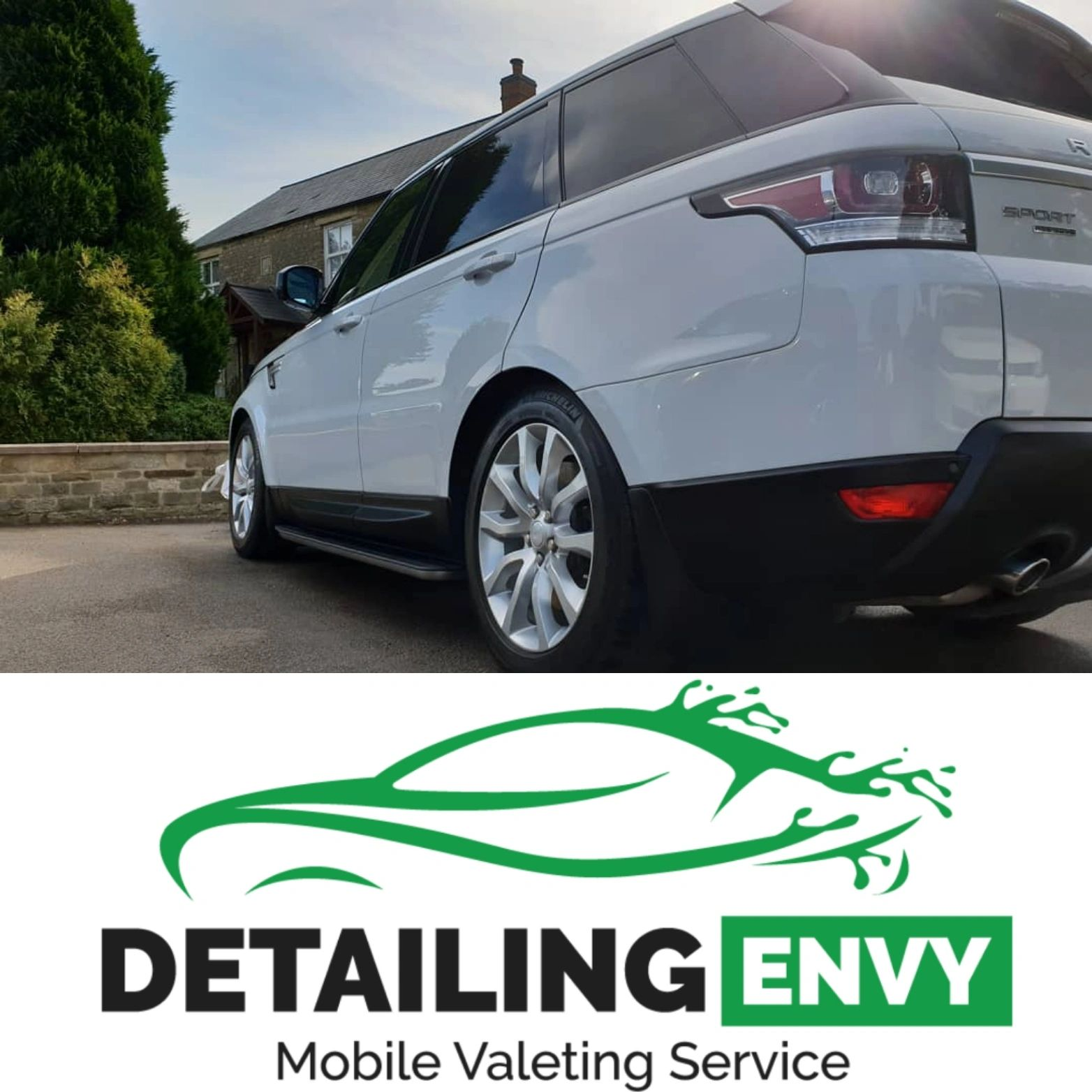 Detailing envy mobile valeting corby Northamptonshire machine polishing new used cars rutland