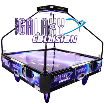 Galaxy Collision QuadAir Hockey Table