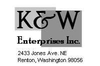 K & W Enterprises Inc / Nylon Web Gear