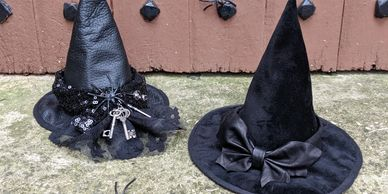 mini witch witches hat halloween fancy dress costume