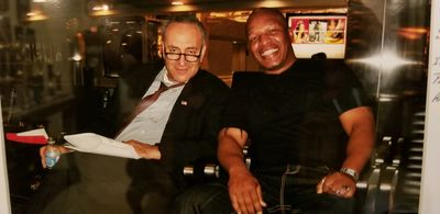 Senator Charles Schumer, Andre Hutchinson, Government Security Services