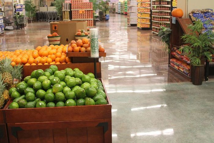 Concrete Polishing Floors 2 COLORS  hi-sheen level  by Outstanding Floors INC.