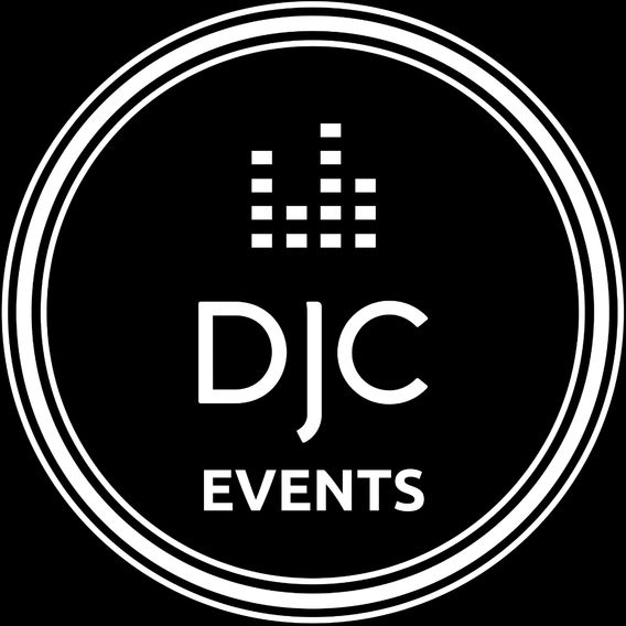DJC Events Logo, DJ, Karaoke, Photo booth, Sydney Australia