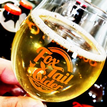 Cider & Beer. Weekly Specials for Fox-Tail Cider's Tap House!
