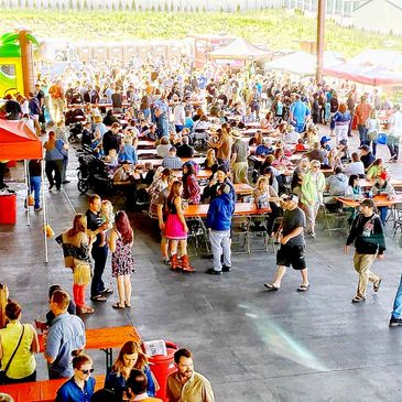 Hood River's Cider Fest! Hosted by the Chamber of Commerce and cold storage of Fox-Tail Cider & Distillery.