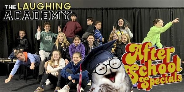 Laughing Academy Glenview Middle School improv comedy performers