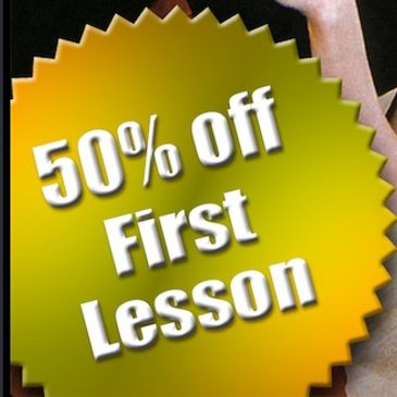 Half off first lesson
