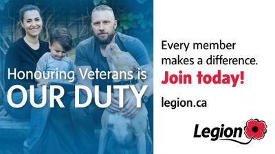 Honouring Veterans is Our Duty. Every member makes a difference. Join today! whalley whalley legion