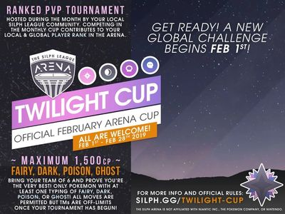 NJ Silph Arena Twilight Cup Rules