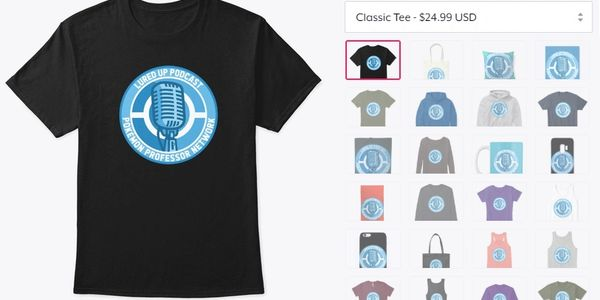 Lured Up Podcast Spin Logo Merch Merchandise