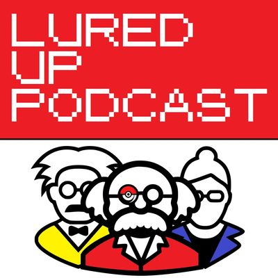 Lured Up Podcast Logo Pokemon Professor