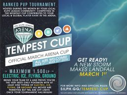 NJ Silph Arena Freehold Regional Tempest Cup