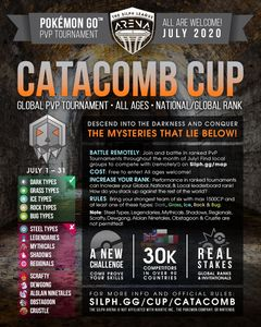 NJ GO Battle League Silph Arena Catacomb Cup