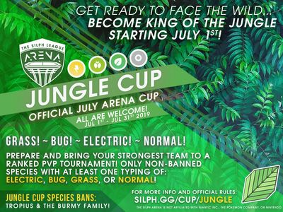 NJ Silph Arena Jungle Cup