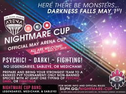NJ Silph Arena Bayshore/Two Rivers and Raiders of the Lost Karp Nightmare Cup
