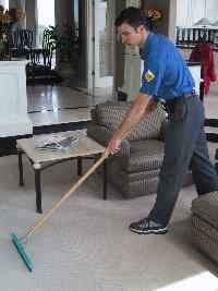 Heavily soiled areas carpet cleaning