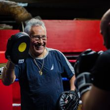 Outlaw Boxing Club | Coach Sergio Sanchez.