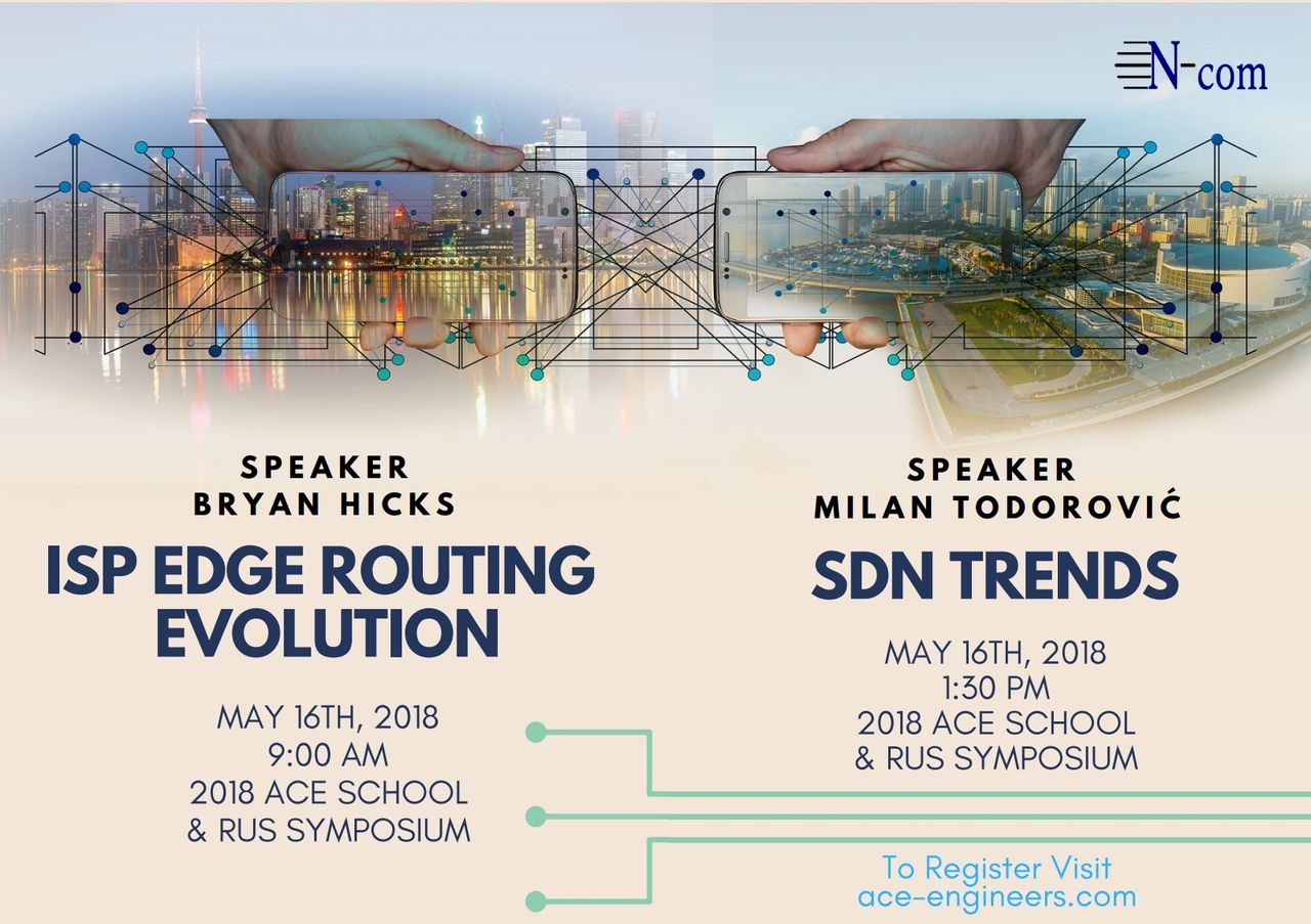 Edge Routing and SDN Trends (2018 ACE School & RUS Symposium)