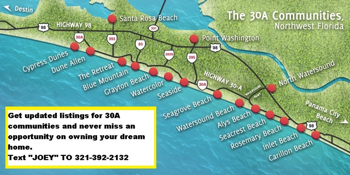 30A MAP EAST & WEST