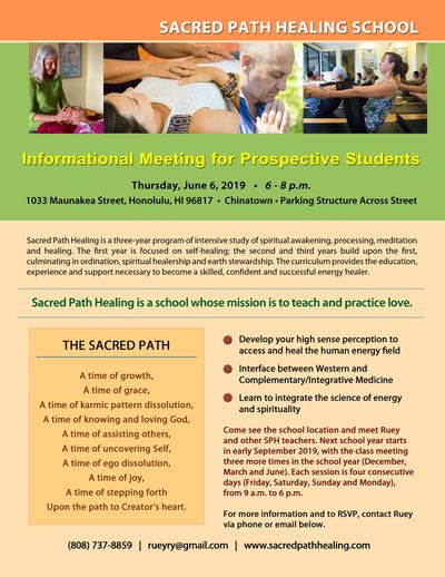 Sacred Path Healing School open house
