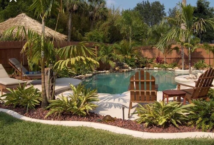 Tips By Nick Designing A Tropical Landscape