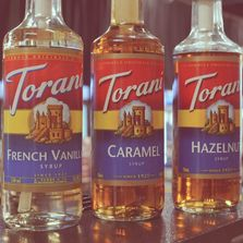Torani Brand syrup and drink flavoring.
