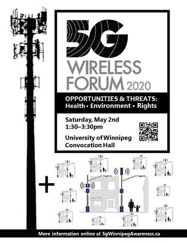 May 2nd Poster showing cell tower