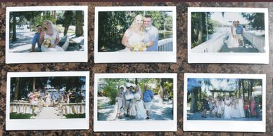 Central Florida Wedding Group Orlando Cocoa Beach Instax Pic Session