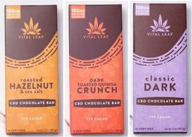 Chocolate infused with CBD is not only enjoyable, but increases the efficacy of the CBD. A neurotran