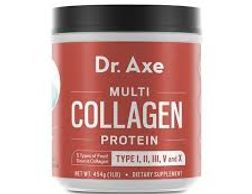 Multi Collagen Protein Powder—Featuring Collagen Type I, II, III, V and X from Four Food Sources (be