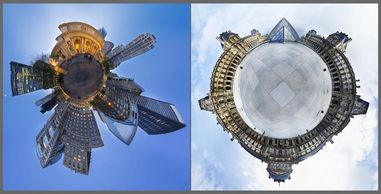 Michael James Murray is known for his 360° Panoramic depictions of our perpetually changing world. H