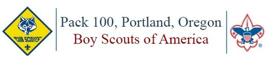 Cub Scout Pack 100 - Portland, OR