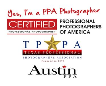 Certified Professional photographer memberships and hard work.