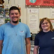 Tristan Lee and Kendra Hunt - Store Managers