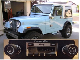 Vintage Vibes Classic Car Stereos