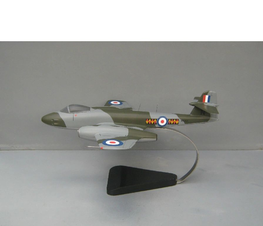 RAF Meteor desktop model
