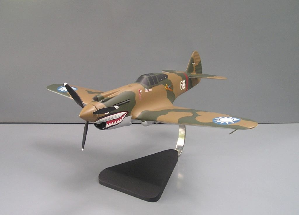 flying tigers desktop model