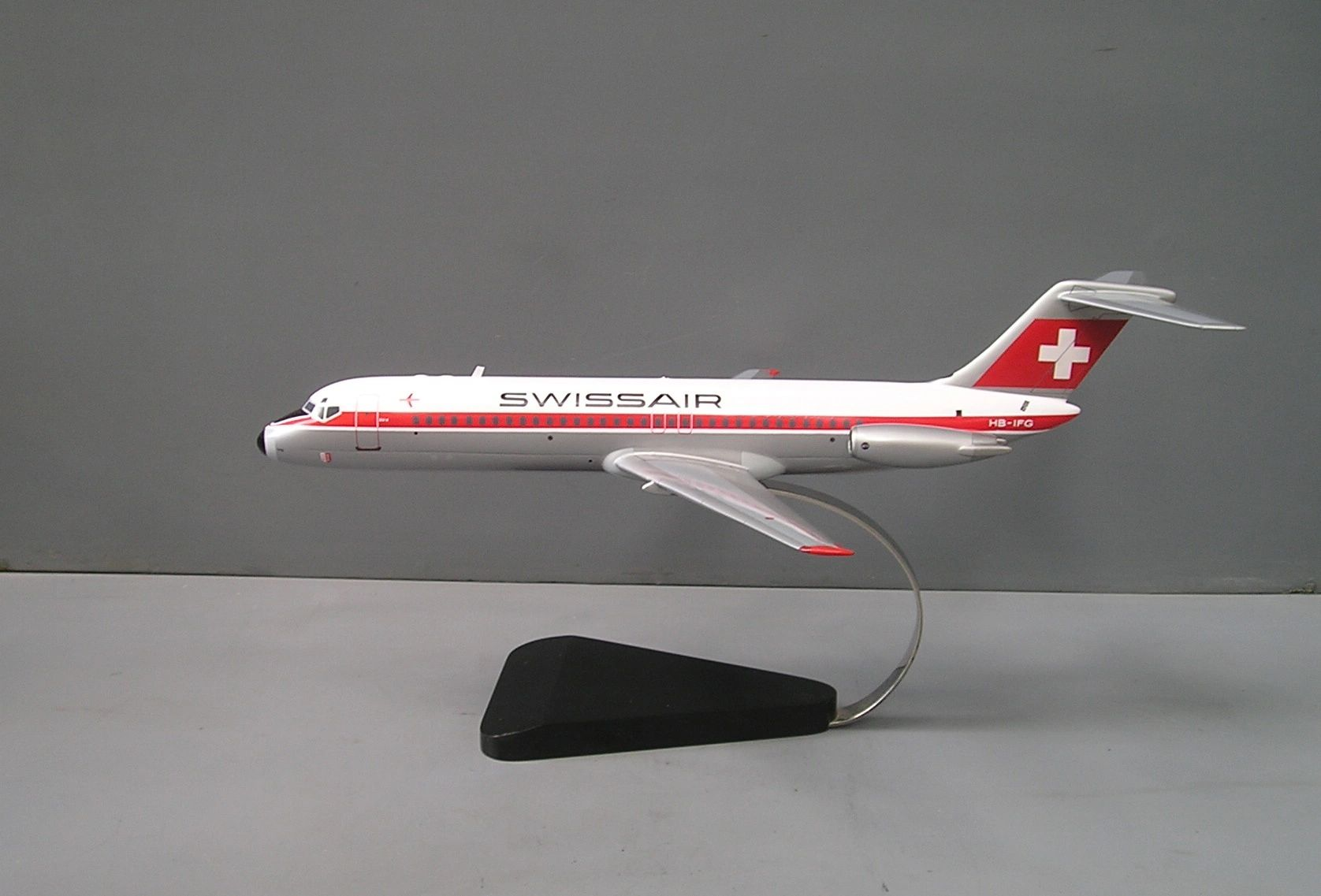 Swissair custom model