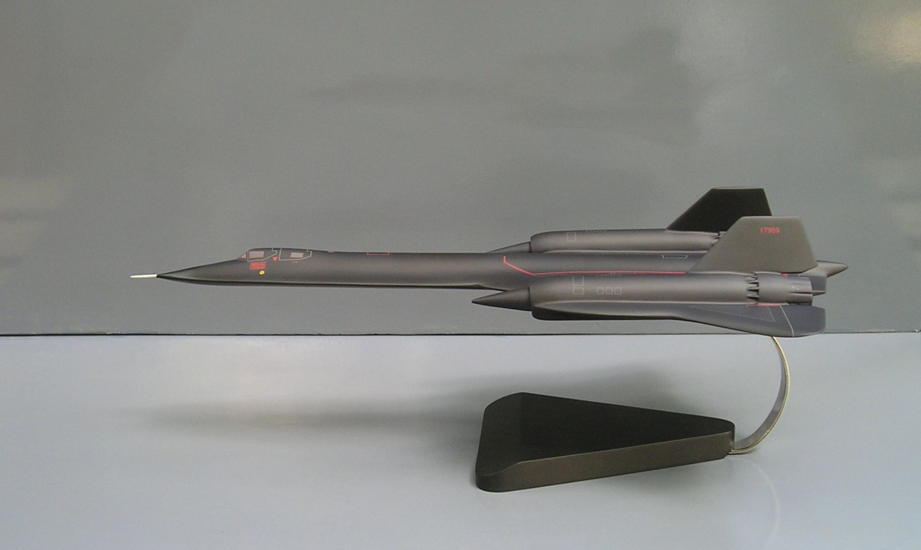 SR-71 Blackbird custom model
