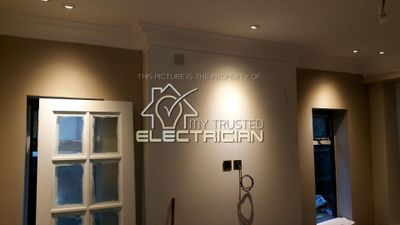 A home we rewired in Banstead, Coulsdon by our company, My Trusted Electrician.