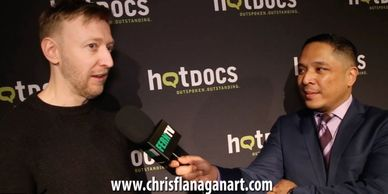 Chris Flanagan interviewed on FernTV at Hot Docs 19 press launch