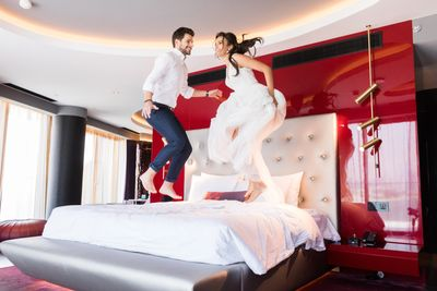 Post Wedding fun . Choosing the right hotel to celebrate your wedding is so important. W Hotel Dubai